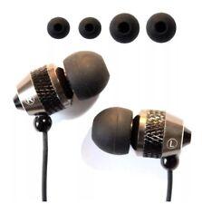 Brand New Earphone Headphone, Metal Union Body, Free Extra Earbuds, Uk Seller