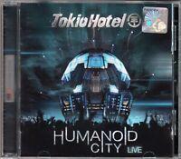 TOKIO HOTEL Humanoid City Live 2010 MALAYSIA EDITION CD RARE NEW FREE SHIPMENT