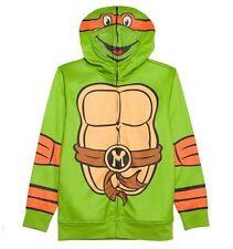 Teenage Mutant Ninja TURTLES Hoodie Jacket Teen Boy's 18/20 NeW Costume Zip Mask