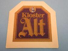 Beer Coaster >< Privatbrauerei Hohenfelder Brauerei Hamm Kloster Alt <> GERMANY