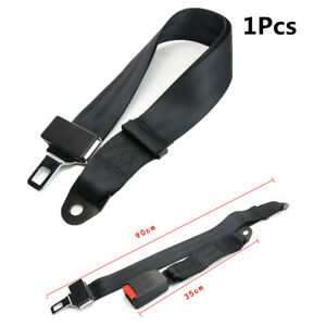 Universal Adjustable Seat Belt Car Truck Lap Belt 2 Point Safety Travel Strap