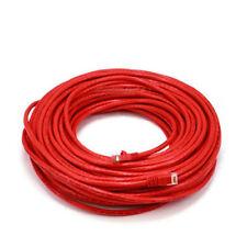 25-100ft Cat5e 5 Cat6 7 Network Cable RJ45 Ethernet Internet Net Lan Patch Wire