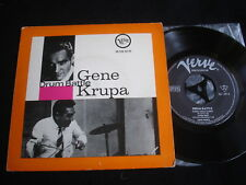 "GENE KRUPA/DRUM BATTLE/VERVE/JAZZ /GERMAN 7"" EP"