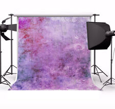 8x8ft Butterfly Printed Purple Backdrop Prop Background Studio Photography Vinyl