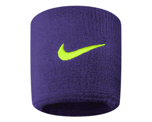 Nike Swoosh Wristbands Sweatbands One Size Unisex 1 Pair in Various Colors
