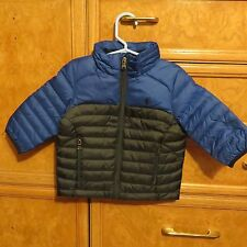 b11c4b76c251 infant Polo Ralph Lauren puffer down jacket fall winter coat blue 12M NWT   125