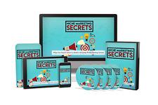 Niche Marketing Secrets & Video Upgrade  W/ PLR Master Master Resale Rights