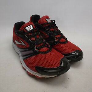 Brooks T6 Racer Women's Trainers Running Shoes UK Size 5.5 EUR 39 Red Black