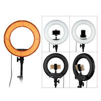 18 Inch LED Ring Light 5500K Dimmable Video Camera Dimmable Lighting Kit US