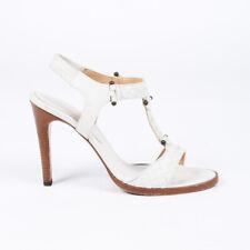 Bottega Veneta Intrecciato Leather T-Strap Sandals SZ 40