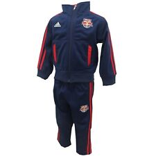New York Red Bulls Official MLS Adidas Toddler Light Jacket & Pants Combo Set