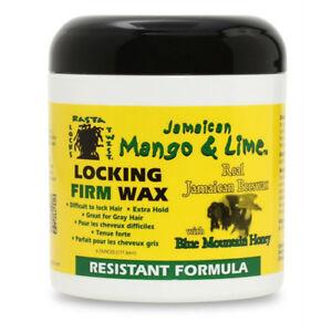 [JAMAICAN MANGO & LIME] LOCKING FIRM WAX RESISTANT FORMULA 6OZ