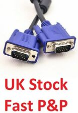 NEW SVGA VGA 1.5m 15 Pin Male to Male PC Monitor TV LCD Projector TFT Cable