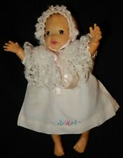 Vintage, Linda Baby Doll – 1950s, clothing lot, 1 tagged diaper, others homemade