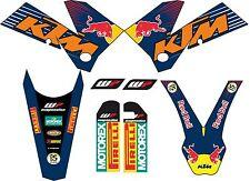 KIT DE PEGATINAS, ADHESIVOS, KTM EXC, SX 2005, 2006, 2007 DECAL, GRAPHICS