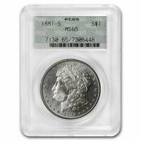 1881-S Morgan Dollar MS-65 PCGS (Old Doily Holder) - SKU#213605
