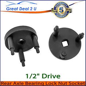 "For Toyota Landcruiser 1/2""  Rear Hub Axle Socket Spanner Tool Bearing Lock Nut"
