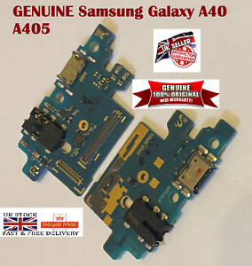 100% Genuine Samsung A40 A405 Type-C Charging Port Dock Connector Mic PCB Board