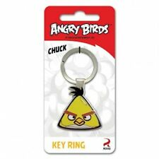 Angry Birds Collectable CHUCK Key Ring, House Keys-Licensed Product FREE POSTAGE