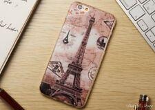 Silikon Handyhülle für Apple iPhone X Tasche Hülle Case Etui - Paris