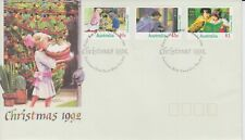 Australia 1992 Christmas. First Day Cover Christmas Hills Vic cancel.