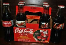 6 COCA-COLA CLASSIC COKE THE ONLY REAL HOLIDAY REFRESHMENT 1996 SANTA CLAUSE