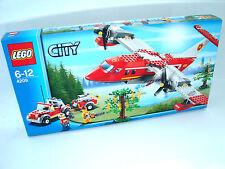 Lego ® City 4209 bomberos-löschflugzeug nuevo embalaje original _ Fire plane New misb NRFB