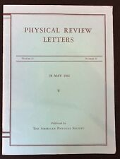 1964 Physics Journal report from1988 Nobel Prize Winner Jack Steinberger Physics