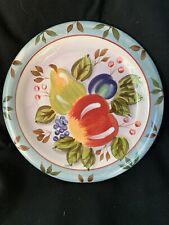 "Heritage Mint Black Forest Fruits Dinnerware 10.5"" Dinner Plate New"