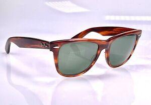 Vintage 1980's B&L Ray Ban Wayfarer II, L1725, 54mm Lens, Sunglasses