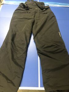 OBERMEYER Black Ski Bib Pant Men's Size Large