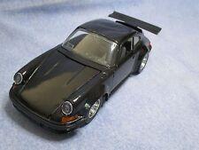 X127 BBURAGO 1/24 BURAGO PORSCHE 911 NOIRE BON ETAT