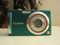 Panasonic LUMIX DMC-FS3 8.1MP Digital Camera - Green