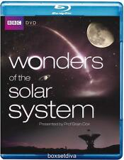 WONDERS OF THE SOLAR SYSTEM BBC SERIES NEW BLU RAY