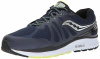 Saucony S20386 1 Echelon 6 Navy Citron Men's Running Shoes, Extra Wide 3E