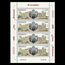 "Monaco 1998 - EURPA Stamps ""National Festivals"" Royalty - Sc 2185a MNH"