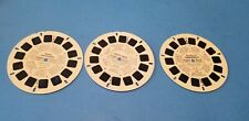 3 View-Master Reels David And Goliath, Cinderella, Aesop's Fables RP1013-RP1015