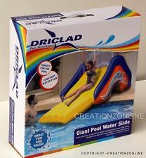 Driclad Giant Pool Water Slide Inflatable Pool Slide Kids Outdoor Fun Brand New