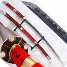 Battle Ready Sandai Kitetsu Roronoa Zoro Katana One Piece Sword Full Tang #730