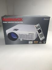Magnavox Bluetooth Home Movie Theater Projector 2000 Lumens 1080P MP601