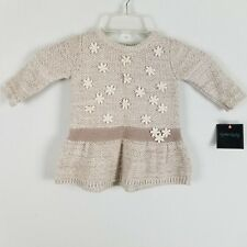 Cynthia Rowley Infant girls beige floral sweater size 3-6M NWT