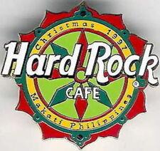 Hard Rock Cafe MAKATI-PHILIPPINES 1997 CHRISTMAS PIN Holiday Star Logo HRC #5244