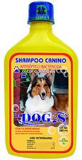 Shampoo Antiseptico PA Dog's 380 ml (2 unidades de 380ml cada una)