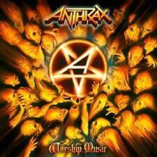 ANTHRAX - WORSHIP MUSIC CD NEW+