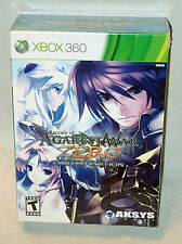 RECORD OF AGAREST WAR XBOX 360 LIMITED EDITION BRAND NEW SEALED COLLECTORS
