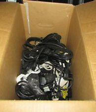 100  X USED MAINS KETTLE IEC C13 POWER LEADS PC MONITOR UNTESTED SRF2469
