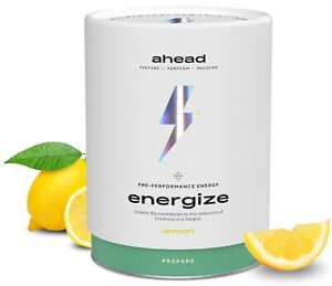 ahead ENERGIZE natürlicher Workout Trainings Booster² Fitness Vegan 450g