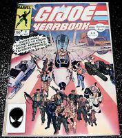 G.I Joe Yearbook 1A (6.0) 1st Print Marvel Comics