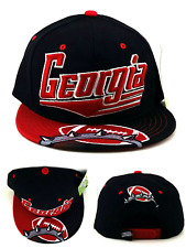 23097544bd5 Georgia New Leader GA Flash 4 Bulldogs Colors Black Red Era Snapback Hat Cap