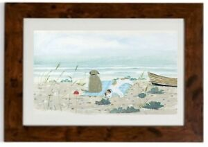Sea Cabbages, Framed Print  by Hannah Cole
